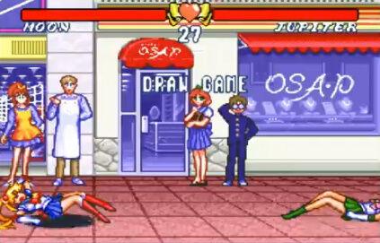 セーラームーン SFC 格ゲー 場外乱闘 主役争奪戦 超必殺技に関連した画像-09