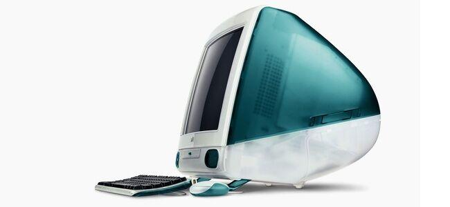 【悲報】 初代iMacの写真を若者に見せたら「すごい!昭和ですね!」と言われてしまう・・・うわぁああああああああ