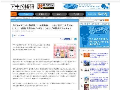 グルメアニメ ランキング JKめし!に関連した画像-02