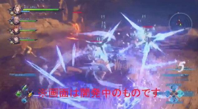 グランブルーファンタジー リンク PS4 Re:LINK アクションRPG プレイ動画に関連した画像-09