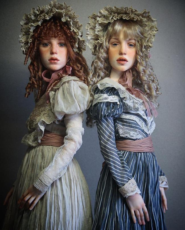ロシア ドール リアル 人形に関連した画像-05