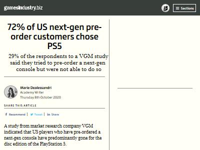 PS5 XboxSX 予約 次世代機 に関連した画像-02