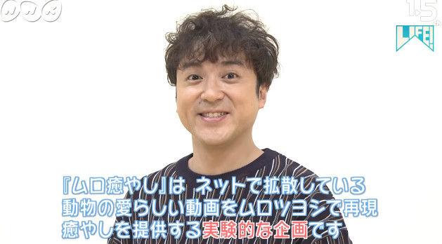 NHK ムロツヨシ 猫 LIFE コント 癒し動画に関連した画像-07