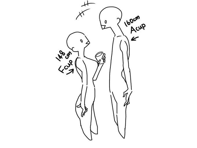 胸 Fカップ 事故 イラストに関連した画像-02