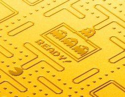 パックマン 純金プレート 35周年 純金 予約 限定 バンダイナムコ バンナム ナムコに関連した画像-04