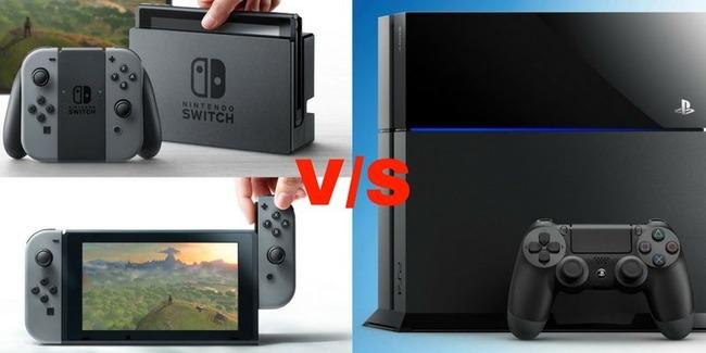 【これが現実】『ニンテンドースイッチ』 あれだけ品切れで大騒ぎしてたのに『PS4』よりも売れていなかったwwwww