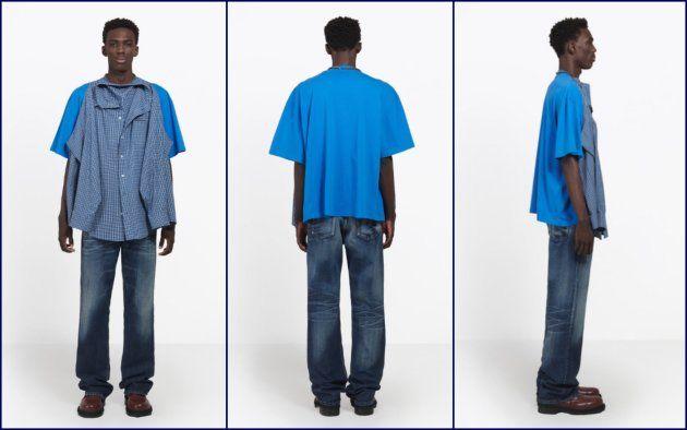 バレンシアガ Tシャツシャツ ファッション 高級ブランドに関連した画像-04