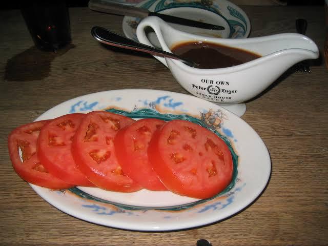 恵比寿 オープン ステーキ店 ピーター・ルーガー トマト 価格に関連した画像-03