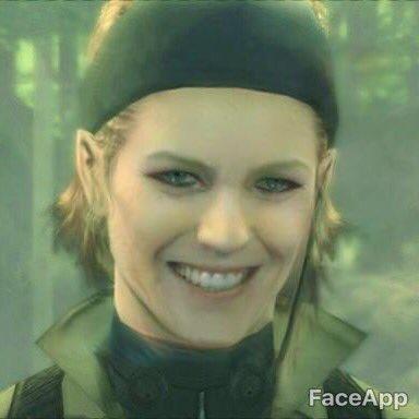 顔写真 絵 強制的 笑顔 アプリ FaceApp プーチン大統領 スネイプ リヴァイ兵長 スネークに関連した画像-16