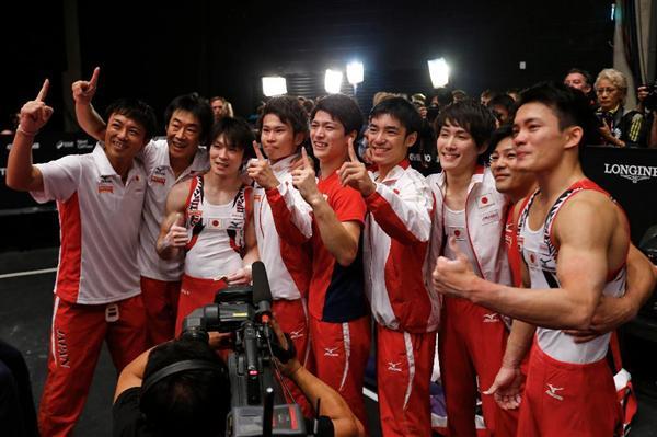 体育世界選手権 男子団体 金メダルに関連した画像-01