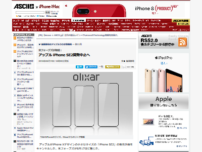 iPhone SE2 開発中止に関連した画像-02