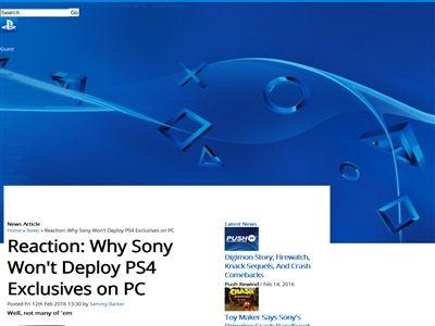 ソニー PS4 独占 PCに関連した画像-02
