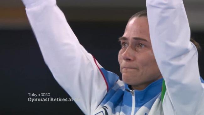 東京五輪 女子体操 オクサナ・チュソビチナ 現役最後 スタンディングオベーション ドイツに関連した画像-01