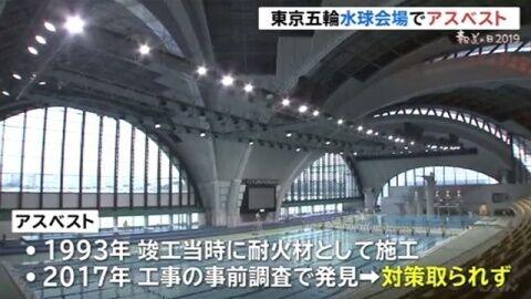 東京五輪 オリンピック 水球会場 アスベストに関連した画像-01