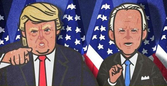 日本 アメリカ 大統領選挙 選挙特番 CG デフォルメ 好評に関連した画像-01