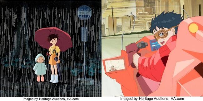 となりのトトロ AKIRA セル画 オークション 約900万円 高額落札に関連した画像-01