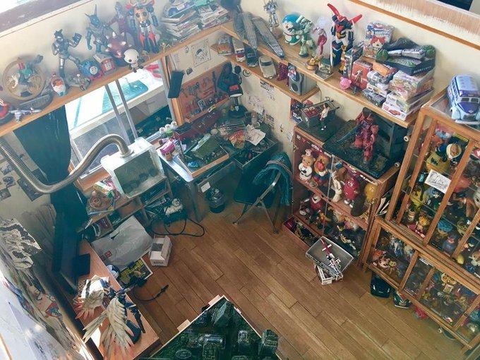 ツイッター オタク部屋 台湾 ミニチュア ジオラマに関連した画像-04