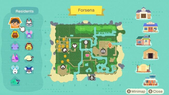 あつまれどうぶつの森 あつ森 どう森 どうぶつの森 ゼルダの伝説 神々のトライフォース マップ 再現に関連した画像-04