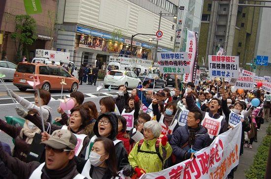 高校の授業料無償化、朝鮮学校が「対象外」から「対象」に!!国の処分を取り消す判決は初!!