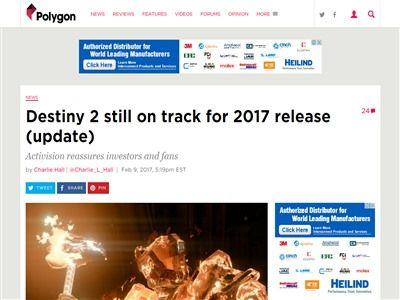 神ゲー デスティニー2 2017年 秋 発売に関連した画像-02