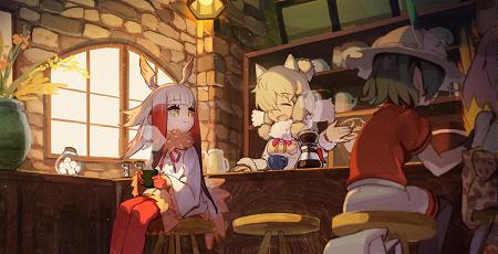 けものフレンズ コラボカフェ ニコニコ本社 ニコカフェ 紅茶 じゃぱりまんに関連した画像-01