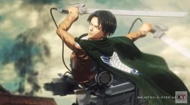 進撃の巨人 PS4 ゲーム PVに関連した画像-04