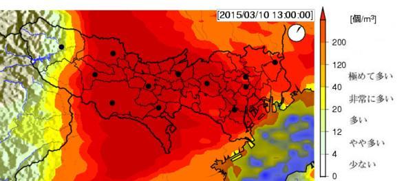 花粉 予報 注意 東京 極めて多いに関連した画像-02
