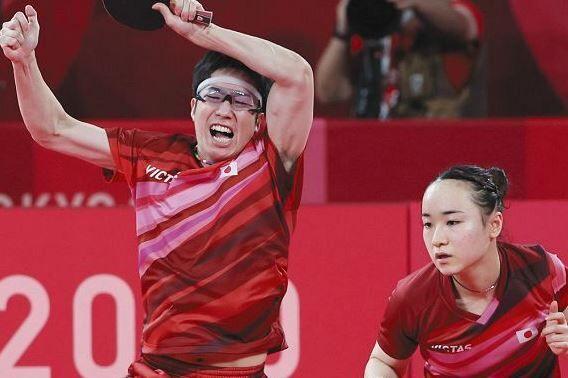 卓球 東京五輪 水谷隼 伊藤美 史上初に関連した画像-01