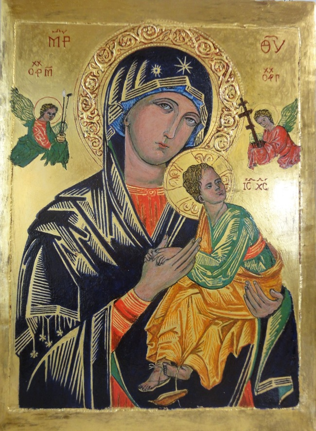 ロシア キリスト教 イコン 宗教画 アニメ調 論争に関連した画像-03