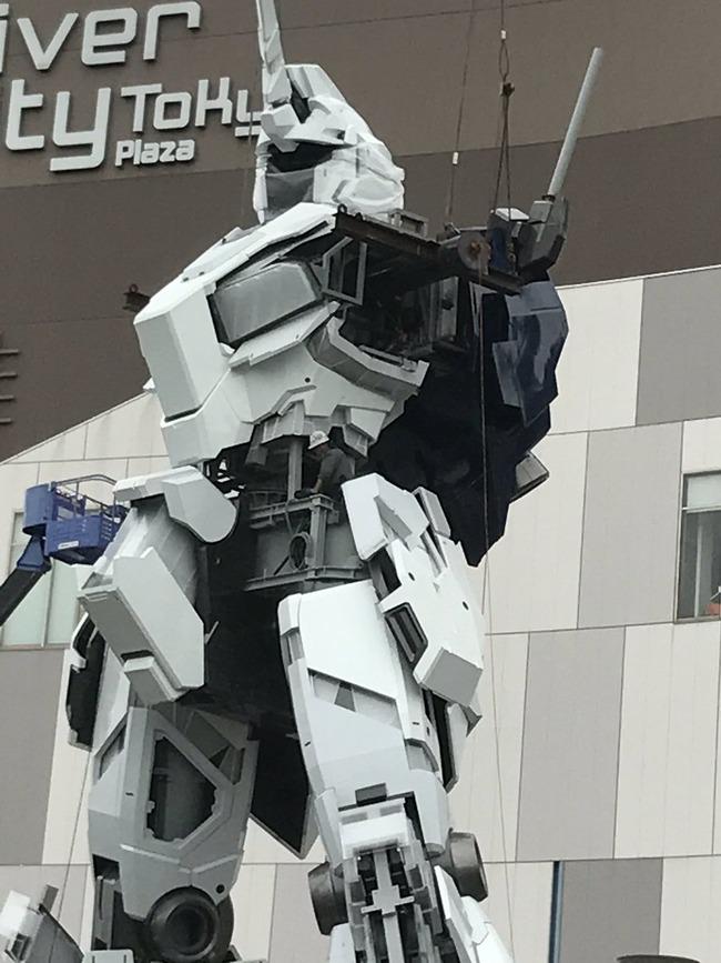 お台場 実物大 ガンダム ユニコーンに関連した画像-02