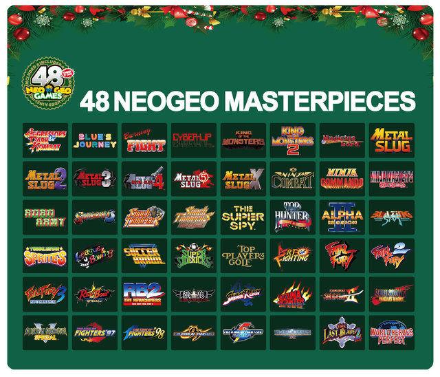 NEOGEO mini クリスマス 従来版 限定版に関連した画像-04