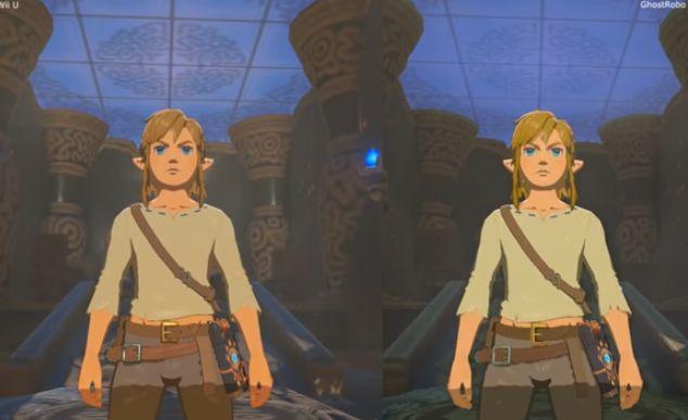 ゼルダの伝説 ニンテンドースイッチ WiiU 比較 動画に関連した画像-01