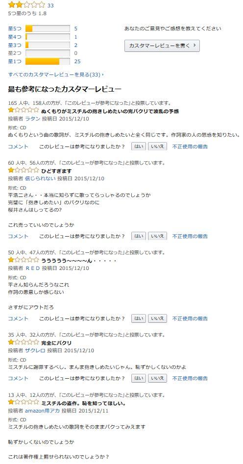 ミスチル Mr.Children ミスターチルドレン 抱きしめたい 演歌歌手 パクリ 炎上 平浩二に関連した画像-05