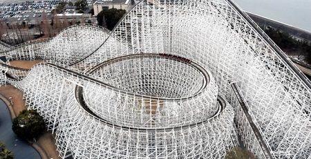 ジェットコースター 木造 ナガシマスパーランド ホワイトサイクロン 終了 引退に関連した画像-01
