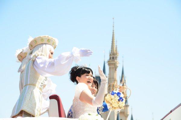 西又葵 結婚式 ディズニーランド シンデレラ城 イラストレーター 三宅淳一に関連した画像-25