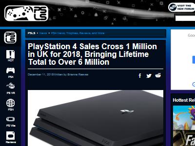 PS4 イギリス 売上 国内累計販売台数に関連した画像-02