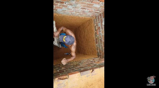 ネコ 穴 脱出 救出 猫 に関連した画像-06