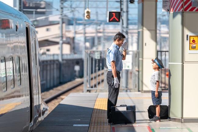 JR 北陸新幹線 長野駅 息子 サービス に関連した画像-04