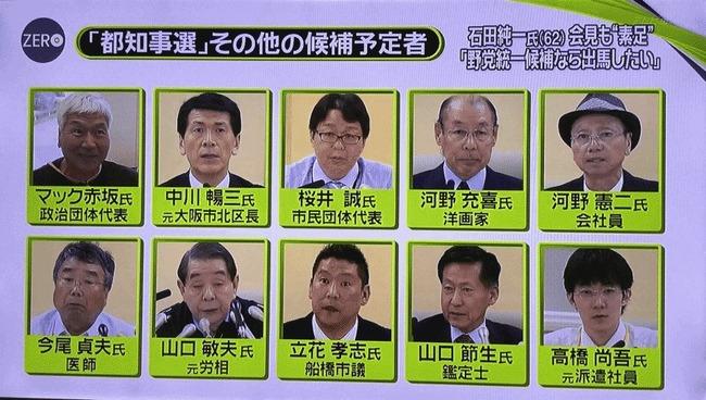 都知事選 泡沫候補に関連した画像-01