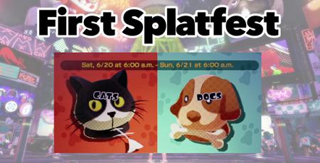 スプラトゥーン 犬派 猫派 フェス 北米 アメリカに関連した画像-01