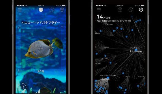 生物 iPhone 名前 アプリ リンネレンズ LINNE LENSに関連した画像-01