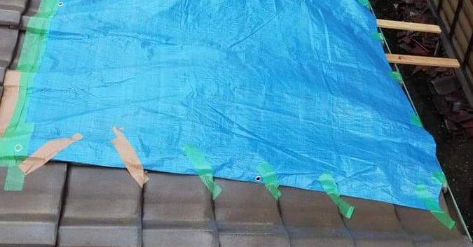 千葉 台風 停電 屋根 ブルーシート 業者 ボッタクリ 詐欺に関連した画像-01