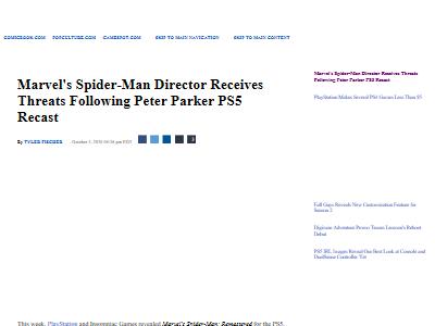 PS5スパイダーマン顔変更に関連した画像-02