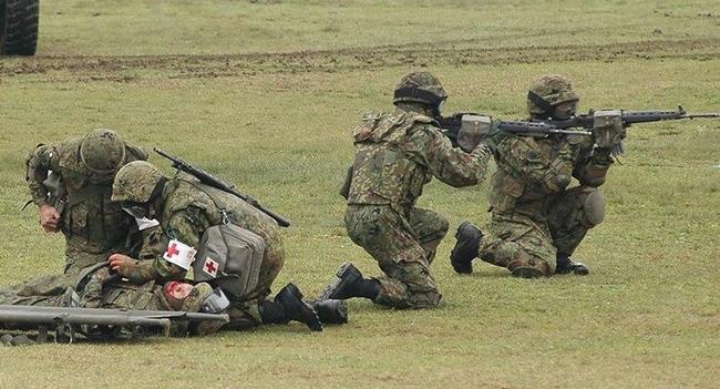 自衛隊 隊員 行方不明 銃剣 小銃 大分に関連した画像-01