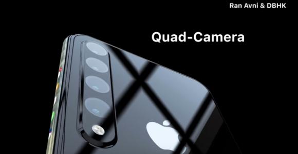 iPhone XI コンセプトイメージ ベゼルレスデザイン 側面ショートカットに関連した画像-06