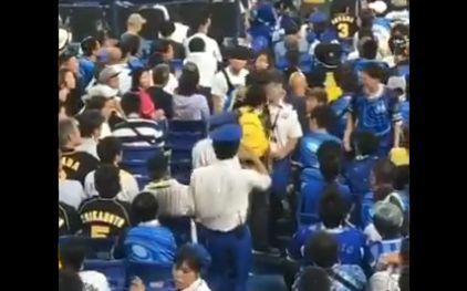 阪神タイガース ベイスターズ ファン 喧嘩 子供 投げる 虐待に関連した画像-03