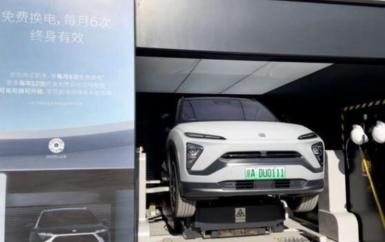 中国 EV 電池交換型 自動車強国に関連した画像-01