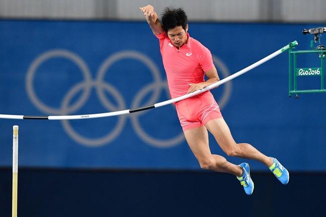オリンピック リオ五輪 棒高跳び 荻田大樹に関連した画像-03