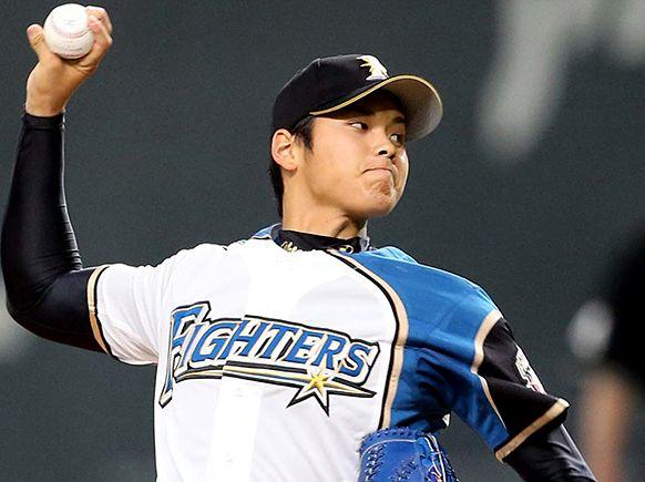 大谷翔平 投手 日本ハムファイターズ 日ハム 球界 歴代最速 163キロ 5番ピッチャー スタメンに関連した画像-01