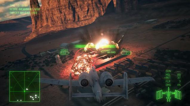 エースコンバット7 E3 PV 戦闘画面に関連した画像-14